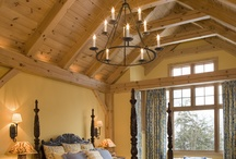 Dreaming of Bedrooms / by Woodhouse Timber Frame
