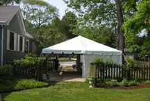 Our Tents / Take a look at the tents we carry! Available to rent for any event, fundraiser, party, or corporate event!