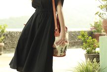 Dresses black