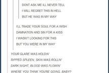 Song lyrics funny
