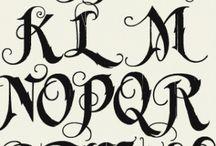 Textning, calligrafi & måla