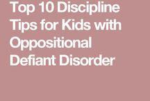 ODD oppositional defiant disorder