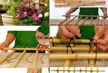 Bambu . Decoração  e trabalhos com / by Yoco Katoo