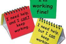 klassenmanagement / Alles wat te maken heeft met je administratie, de sfeer in de groep, je werk organiseren, methodes en truukjes voor omgaan met conflicten, spelletjes met de groep, rangschikken van tafels... enzovoort!