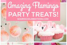 flamingos party