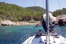 Isla de Ibiza y Formentera (España) en velero.
