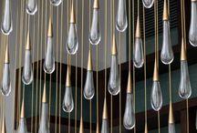 TAN_copper chandelier