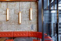 Linear wall scones