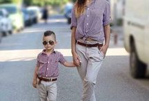 Mom and son outfits
