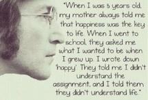 Sayings I love...