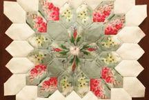 šesť uholníkovy patchwork