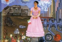 Great Ladies-Frida Kahlo / by Pat Wolfson