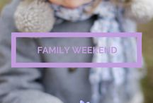 Family Weekends / Sweet places to go and things to do with the people you love, big or small, two legs or four.
