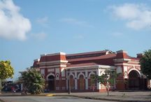 Old train Station / This was the old train Station in Granada. This was an import route of transportation for Nicaraguans peoples cause they can move Granada, Masaya, Managua, Leon by train.