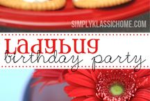 ladybird birthday party
