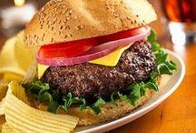 Burgers' party / Burger party, idées recettes de burger & déco de table pour fêtes, anniversaire, soirée cocktail.