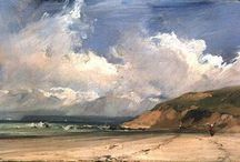 Richard Parkes Bonington / Cuadros del artista inglés Richard Parkes Bonington