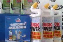 """Kampania Duck®! / Testuj i rekomenduj """"Czysty duet"""" Duck®!  Płyn oraz krążki toaletowe, które pozwolą Ci w innowacyjny i prosty sposób zadbać o bezpieczeństwo Twojej rodziny."""
