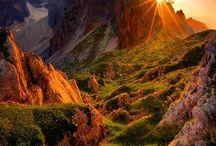 reizen, mooie landschappen