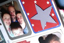 Fourth of July Cards & Projects / Card inspiration, DIY projects, and ideas!