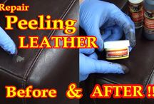 How to fix PEELING Leather - Video