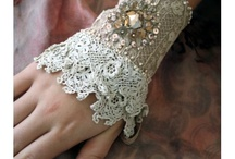 Threads,ribbons,pearls, lace,beads n stuff / by Felicia Fernandes