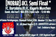 Nobar Semifinal UCL Barcelona vs Bayern München Leg 1 - 7 Mei 2015 / Nobar Semifinal UCL Barcelona vs Bayern München Leg 1 - 7 Mei 2015