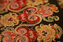 Norwegian embroidery