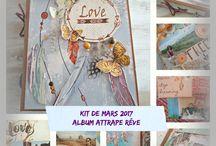 Mes ateliers et kits / Ici se trouvent les photos des ateliers que je propose ou les kits ateliers à vendre par correspondance