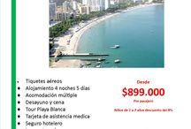 Costa Atlántica Colombiana / Recorre las hermosas ciudades y playas de Colombia.