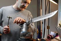 Knife making/Blacksmithing Photography