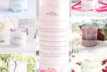 Windlichter als Tischkarten   Hochzeitsdeko / Bringt die Namen Eurer Gäste auf eurer Hochzeit zum strahlen mit den Windlicht-Tischkarten. Mit der passenden Menükarte als Windlicht, schafft ihr ein tolles Gesamterscheinungsbild auf eurer Hochzeitsdeko.
