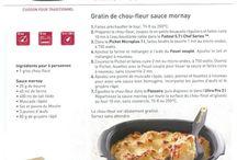 recette tupperware fiche gratin de choux fleur