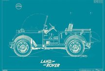 Land Rover / Land Rovers Range Rovers old and new.  / by Matthew Nokes