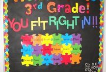 Bulletin Board Ideas / by Janelle Williams