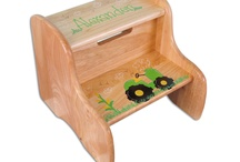 Tractors / Boys like tractors. My Bambino hand painted tractor gifts and furniture. / by My Bambino