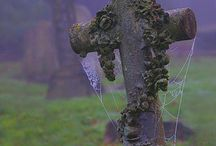 Gardens of Stone / Cemeteries, Graveyard, Cemetery Art, Tombstones of famous people and unusual tombstones, angel statuary etc... / by Myriad Moods