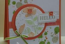 Wildflower Meadow / Made using Stampin' Up! Wildflower Meadow. New in the 2013-2014 catalog!