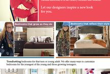 "Good's Home Furnishings Youth Bedroom Groups. It's All About Personal Style.  / Good's Home Furnishings - Stylish Bedroom Groups For Those Growing Years, Youth Groups and more  ""It's all about personal style."" Bedrooms that grow as they do. Featuring Young America, Also, trendsetting bedrooms for that teen or young adult. We offer many ways to customize bedrooms for the youngest of the young and those growing teenagers. Click here to see all bedroom styles http://www.goodshomefurnishings.com/bedroomfurniture/  Featuring Young America, Vanguard, Stanley, Hooker and others.  / by Good's Home Furnishings"
