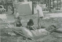 1970s Canvas Holidays / New technology begins to change the world but we still keep our holidays fuss-free. We even start adding a few home comforts to our tents, like fully sprung beds and crockery.