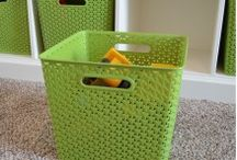 Design Inspirations / Decorating, DIY organization for Home & Office