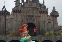 Dismaland / Banksy's new art in Dismaland.