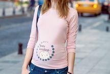 Funny Maternity Tops - Esprili Hamile Tişörtleri / Funny Maternity T-shirts - Esprili Hamile Tişörtleri :)
