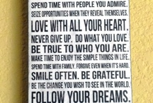 Live your life with Love / Passion & purpose in Life / by Blanche Thomsen