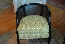 Furniture Facelifts / Furniture that has been given a new life by being re-made, made-over and updated.