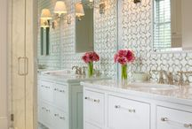 Bathrooms / Bathroom decor ideas to inspire you on your remodeling project.  Stop by the Habitat for Humanity Nashville ReStore for supplies from tools and tiles to cabinets, sinks, and tubs.