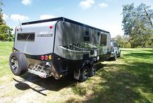 Golf Caravans and Campers / Golf build campers and caravans suited to the tough and rugged Australian conditions.