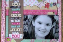 Layouts I have scraplifted / Thanks to all you talented scrappers out there for these gorgeous layouts! / by Judy Dehoux