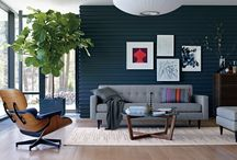 Eames Lounge / I have this thing with beautiful furniture and the Eames Lounge is my favorite. A useable work of art that I love in almost all settings. The Eames Lounge