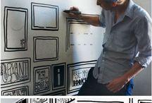 wall illustrations